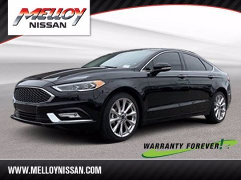 Pre-Owned 2017 Ford Fusion FWD 4dr Car