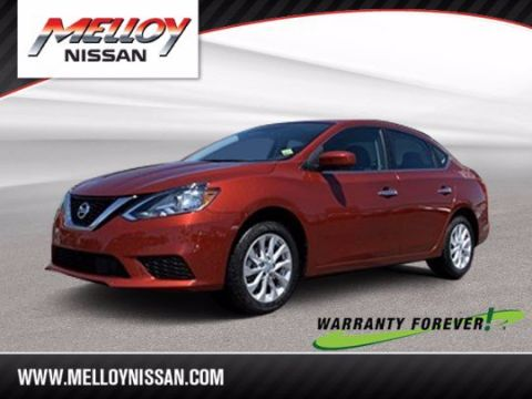 Pre-Owned 2019 Nissan Sentra SV FWD 4dr Car