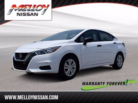 Pre-Owned 2020 Nissan Versa S FWD 4dr Car