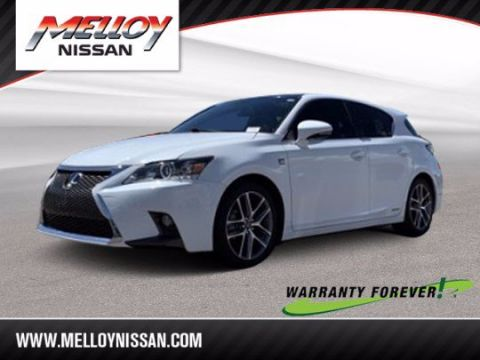 Pre-Owned 2017 Lexus CT 200h FWD Hatchback